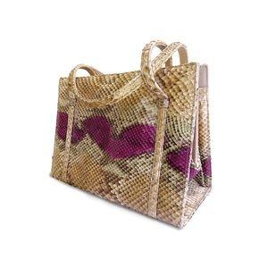 Handbags - Extremely Rare Vintage Martin Snake Skin Hand Bag
